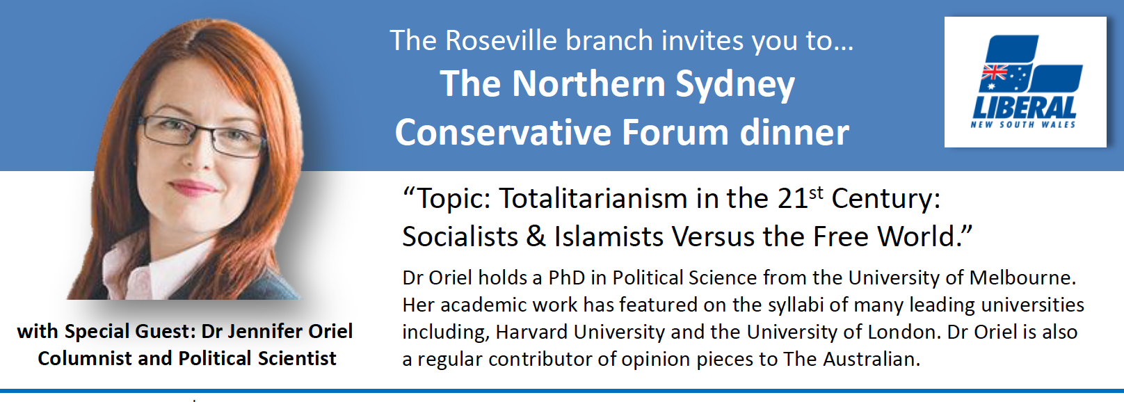 northernsydneyconservativeforumjenniferorieldinner